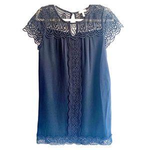 JOIE BLACK LACE DRESS XS